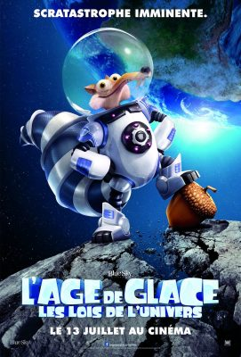 L'âge de Glace 5 : Les Lois de l'Univers (affiche)