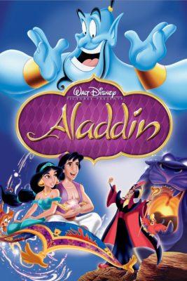 Aladdin (film d'animation Disney) - Affiche DVD