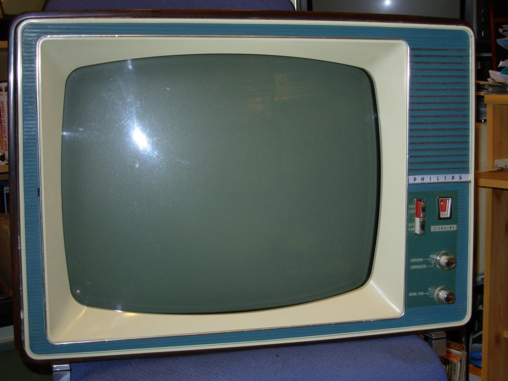 Vieille TV Philips TF de 1934