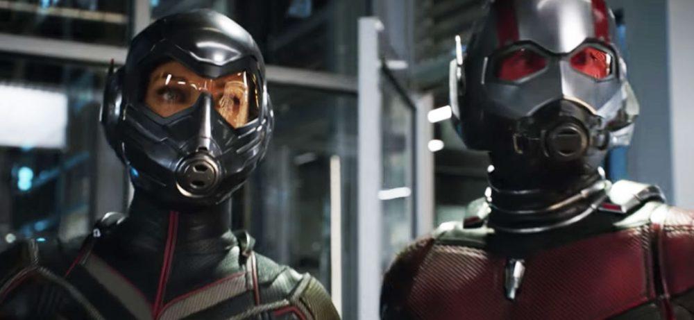 Les héros de Ant-Man et la Guêpe