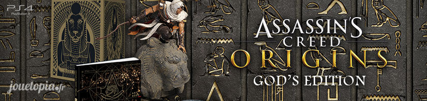 Déballage du coffret Assassin's Creed Origins (Gods Edition)