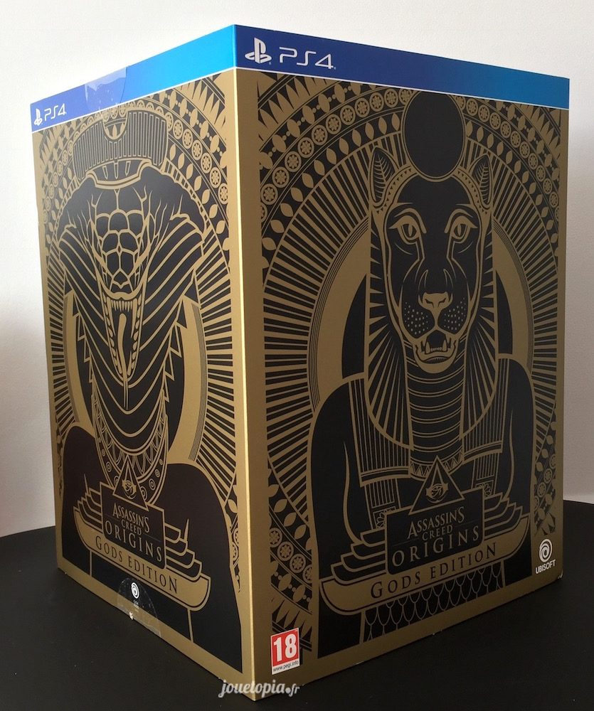 Assassin's Creed Origins : Coffret God's Edition PS4