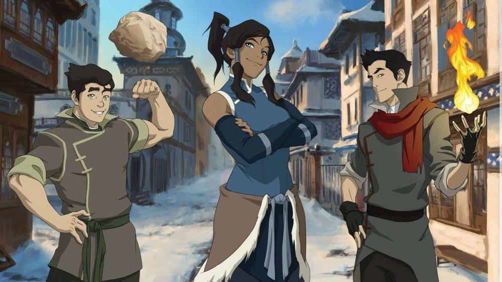 La Légende de Korra, série TV animée