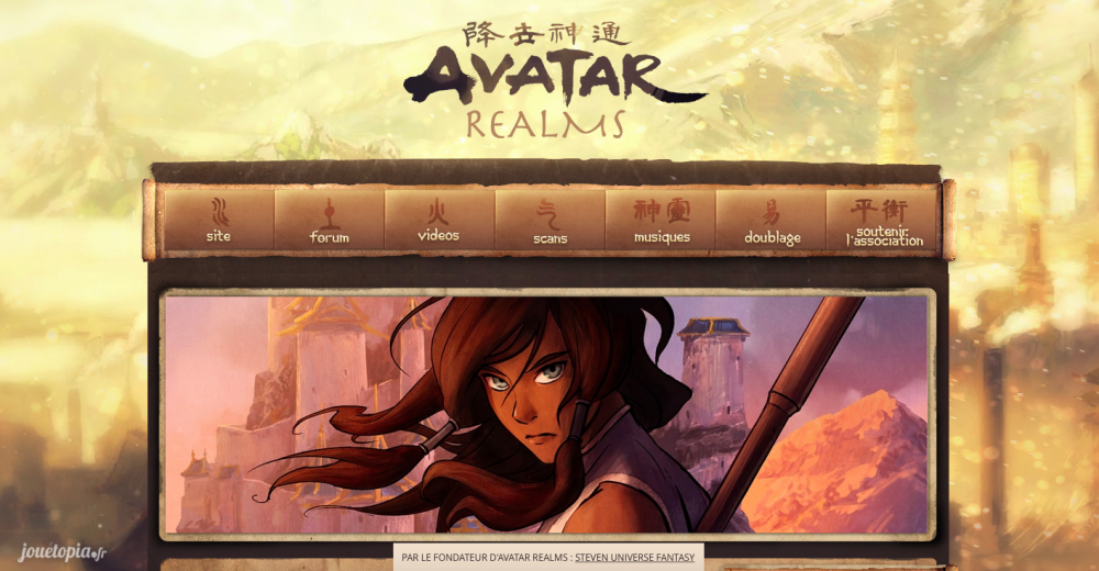 Site de fans Avatar Realms