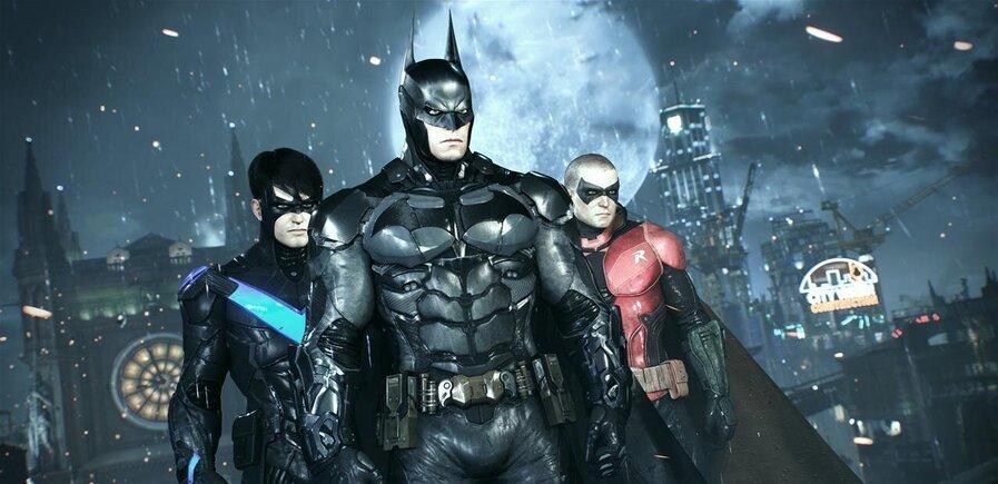 Les Robins dans Batman Arkham Knight