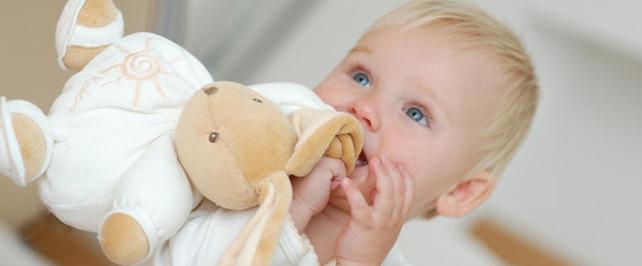L'enfant et son doudou