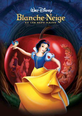 Blanche Neige et les Sept Nains (affiche DVD Disney FR)