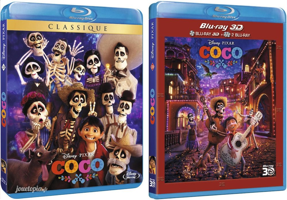 BluRay de Coco (Disney/Pixar)