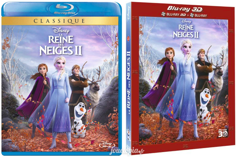 Editions BluRay La Reine des Neiges 2