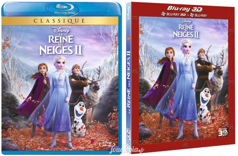 Editions BluRay La Reine des Neiges 2