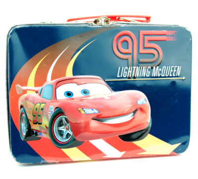 Boite à gouter métallique Disney Cars 2