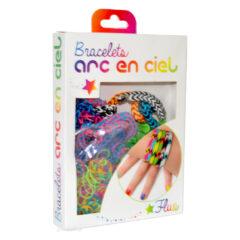 Bracelets Arc-en-Ciel Fluo style Rainbow Loom