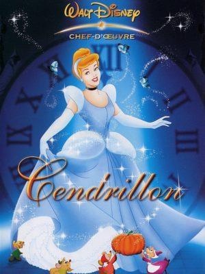 Cendrillon (Disney, affiche DVD FR)