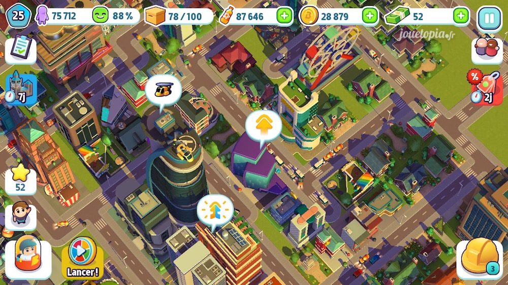 City Mania Gameplay