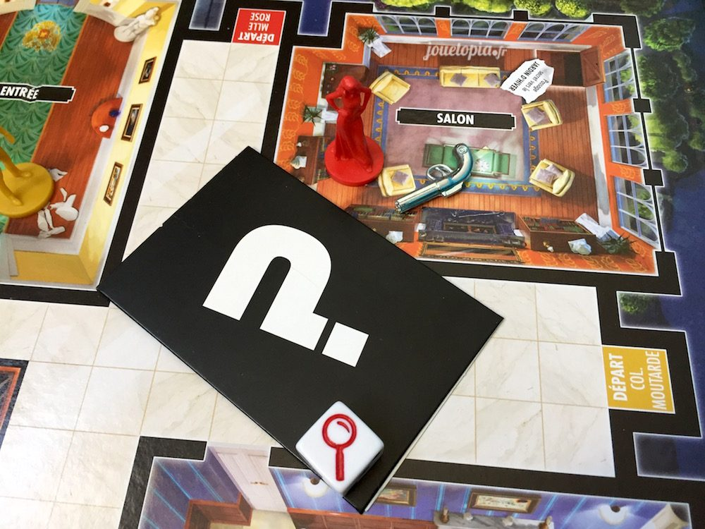 J'accuse au Cluedo
