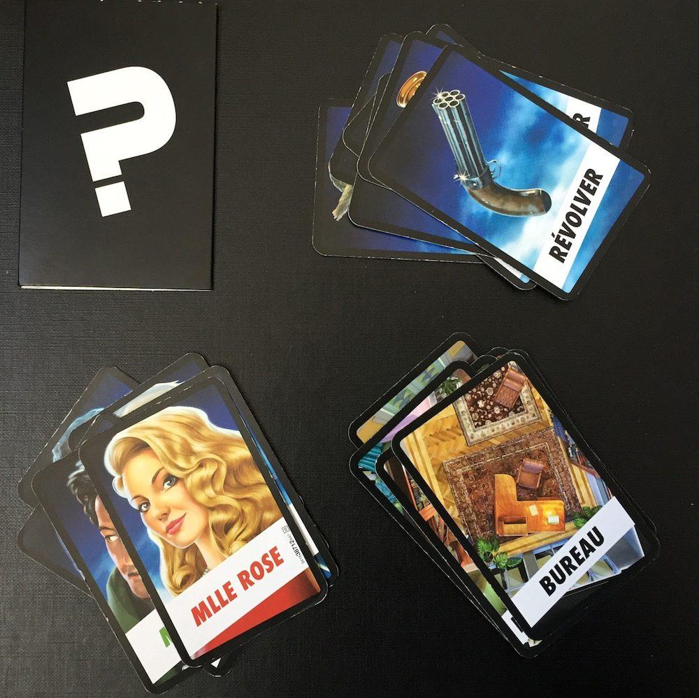 Cartes à jouer Cluedo
