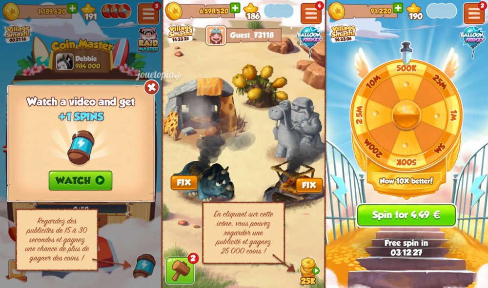 Coin Master : Coins et Spins gratuits
