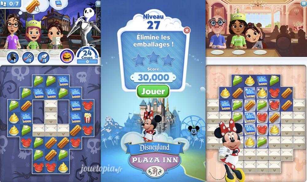 Disney Dream Treats : Objectifs des niveaux
