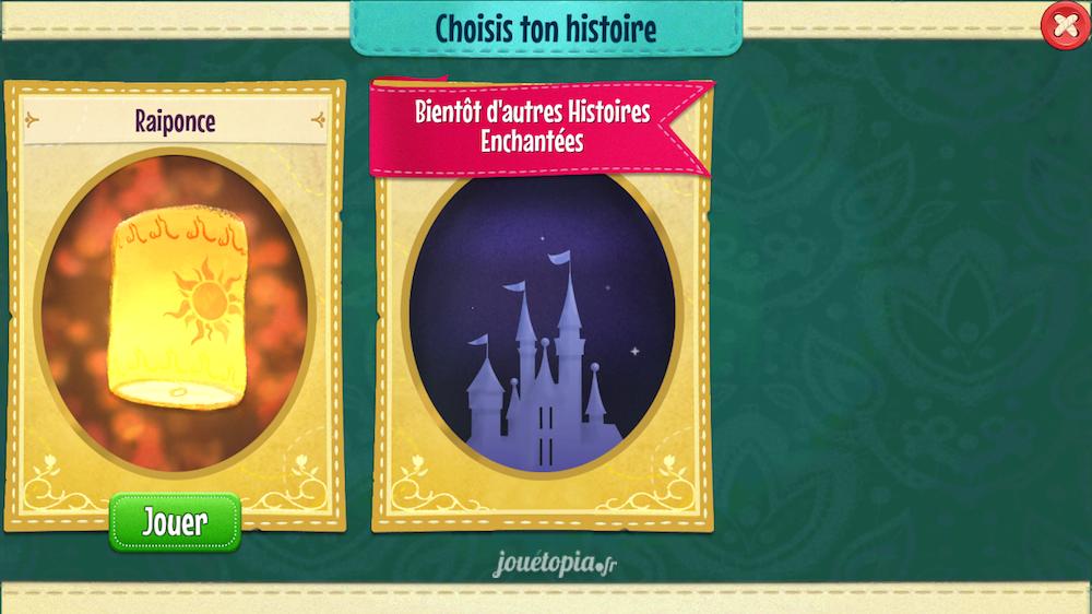 Histoires Enchantées : Choix du livre