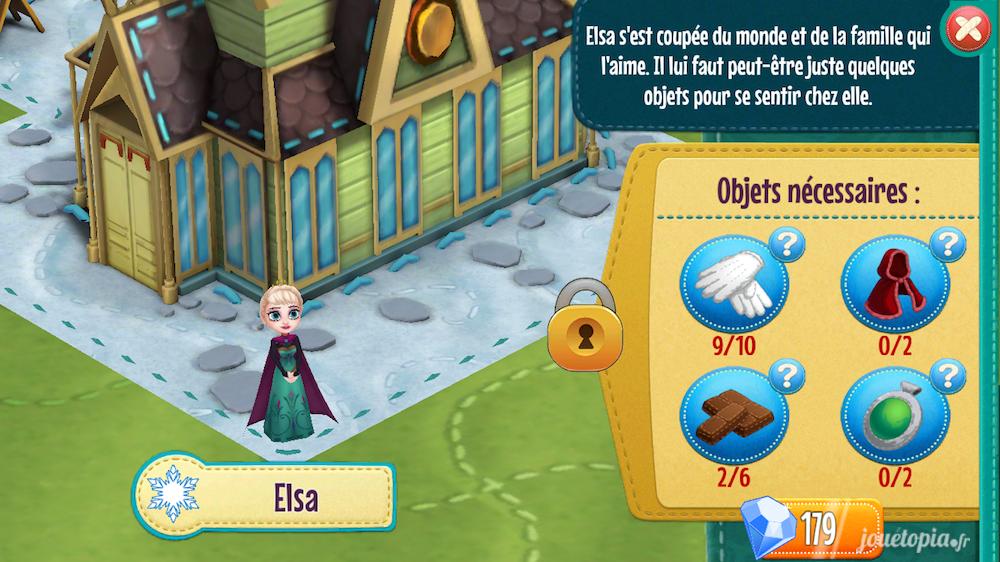 Histoires Enchantées : Débloquer Elsa (La Reine des Neiges)