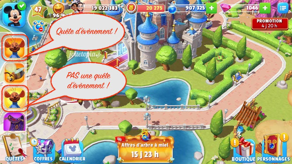 Astuce Disney Magic Kingdoms