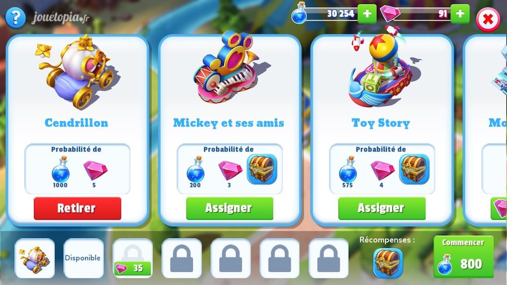 Disney Magic Kingdoms : Parade