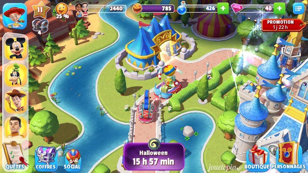 Disney Magic Kingdoms : Parade de chars