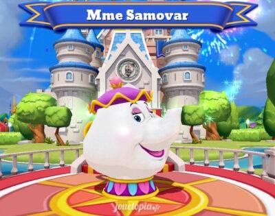 Madame Samovar (La Belle et la Bête)