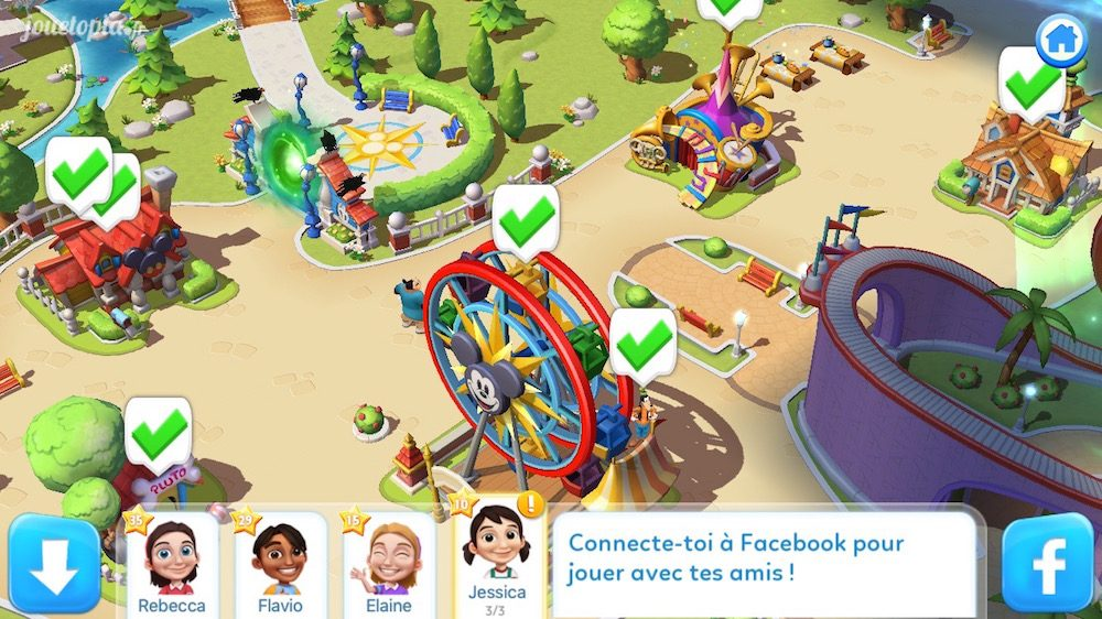 Disney Magic Kingdoms : Social