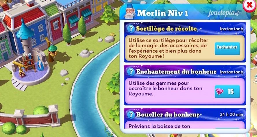 Sortilèges de Merlin