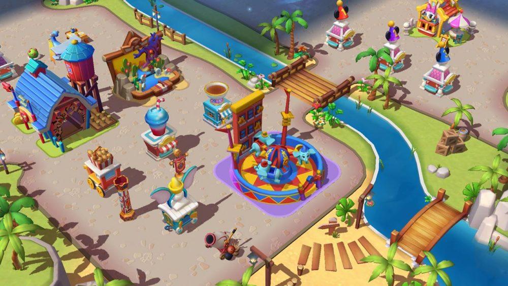 Nouveautés du jeu Disney Magic Kingdoms