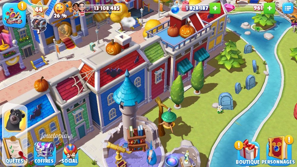 Disney Magic Kingdoms fête Halloween