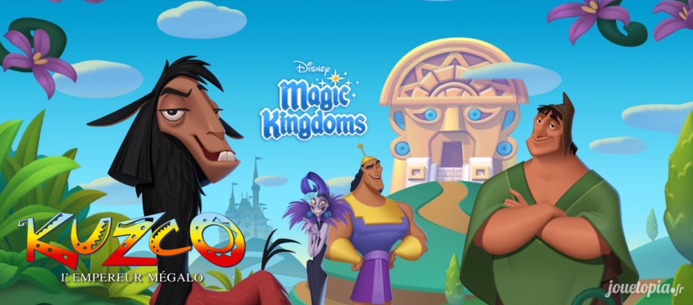 Kuzco dans Disney Magic Kingdoms