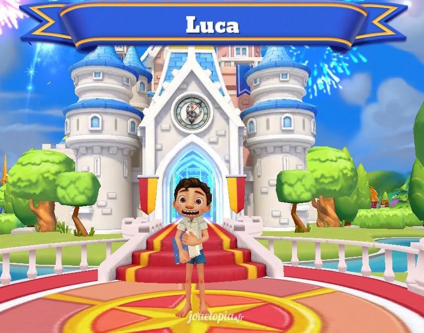 Luca dans Disney Magic Kingdoms