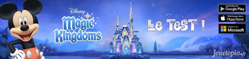 Test : Disney Magic Kingdoms (jeu mobile)