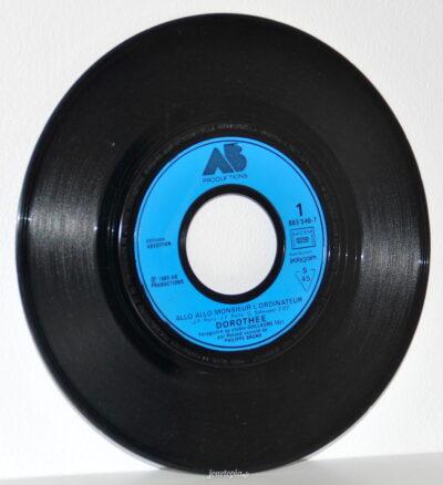 Disque vinyle 45T Dorothée Allo Allo Monsieur l'Ordinateur