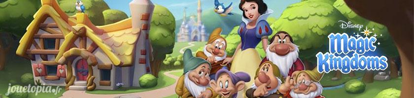 Blanche-Neige et les 7 Nains dans Disney Magic Kingdoms