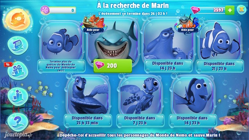 Le Monde de Nemo : A la recherche de Marin (DMK)