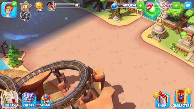 Nouvelle parcelle sur Disney Magic Kingdoms