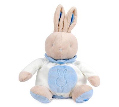 Doudou lapin boule bleu Klorane