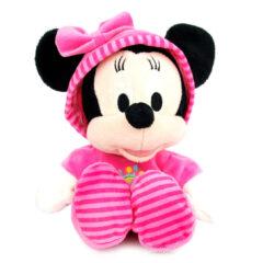 Doudou Disney bébé Minnie en pyjama rose
