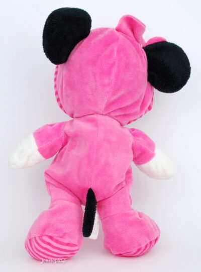 Doudou Disney bébé Minnie en pyjama rose