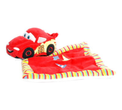 Doudou mouchoir Cars Flash McQueen Disney Pixar
