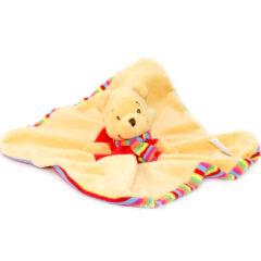 Doudou mouchoir tête Winnie l'Ourson Disney