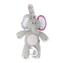 Doudou berceuse éléphant Noukie's Kali
