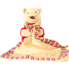 Doudou Winnie l'Ourson mouchoir Disney Baby