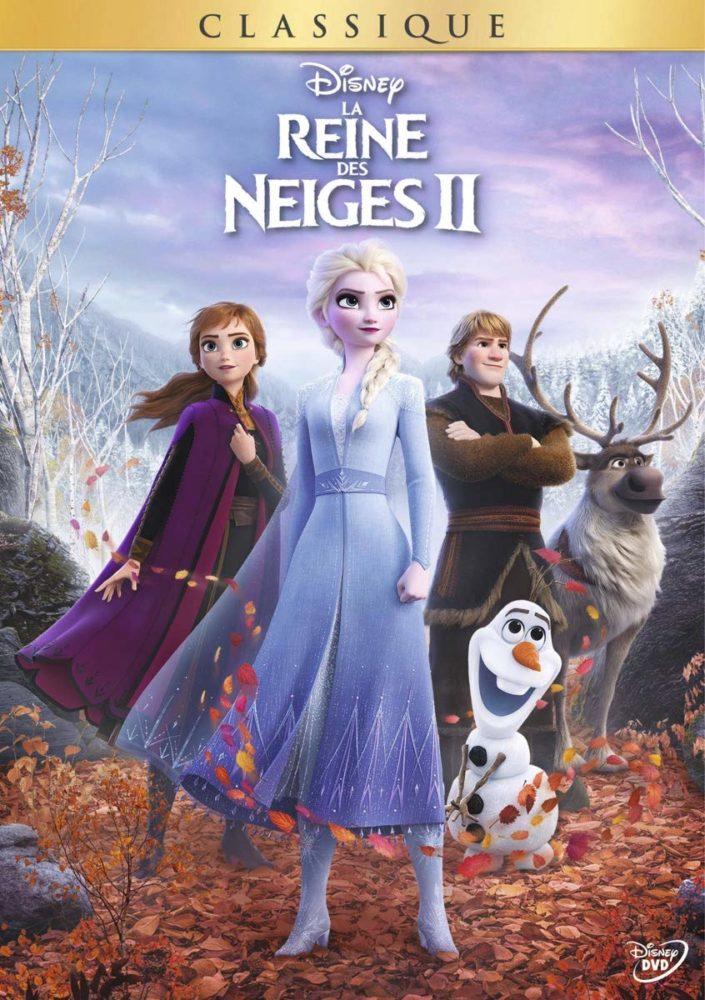 DVD La Reine des Neiges 2