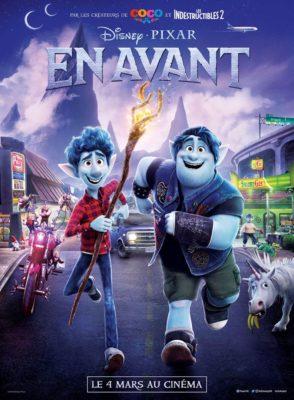 """Affiche du film """"En Avant"""" (Disney Pixar)"""