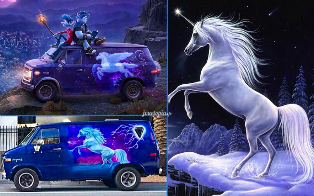 Affaire de plagiat - En Avant de Pixar