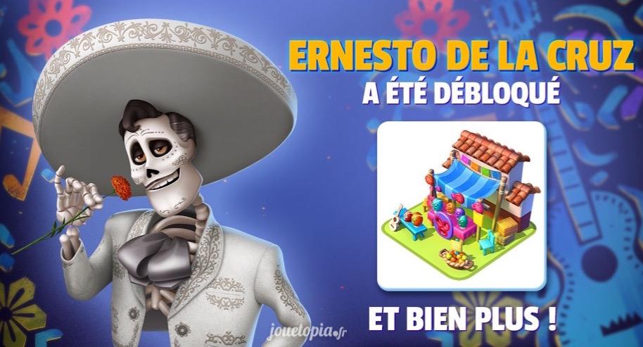 Ernesto de la Cruz (Coco) dans Disney Magic Kingdoms